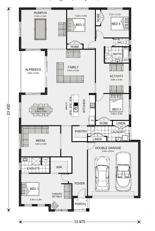 Springbrook 300 - Express Series Floorplan