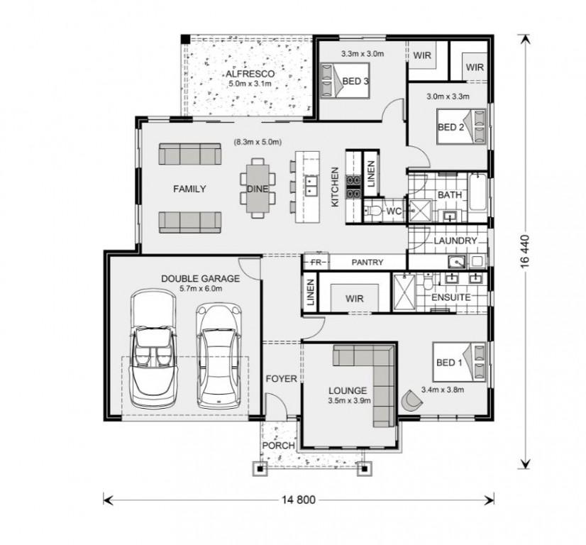 Glenview 210 - Express Series Floorplan