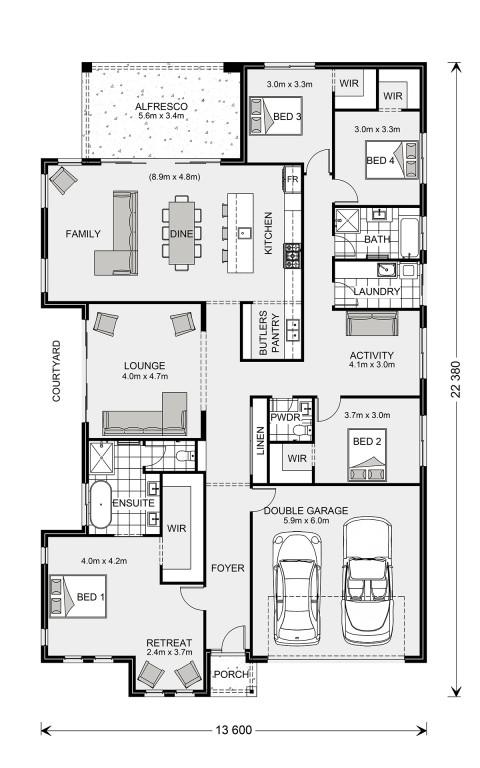 Long Bay 280 - Express Series Floorplan