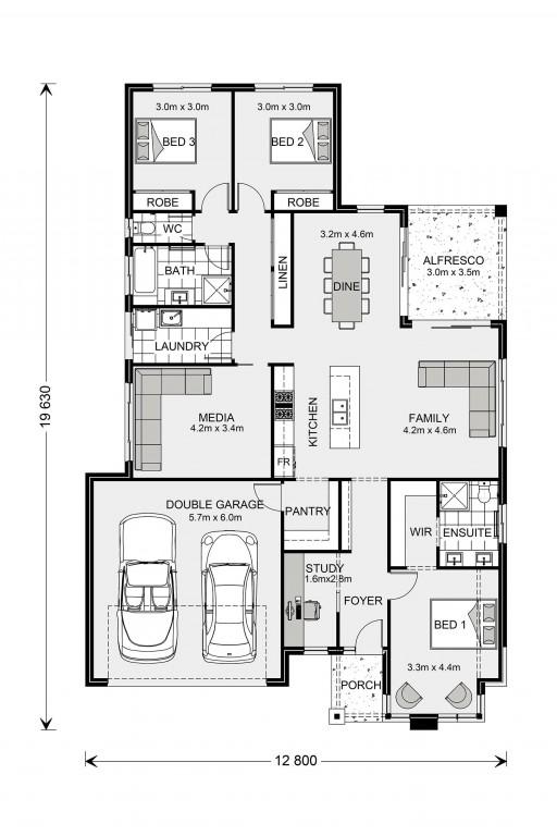 Coolum 205 - Element Series Floorplan