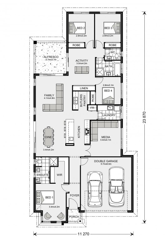 Benowa 230 - Element Series Floorplan