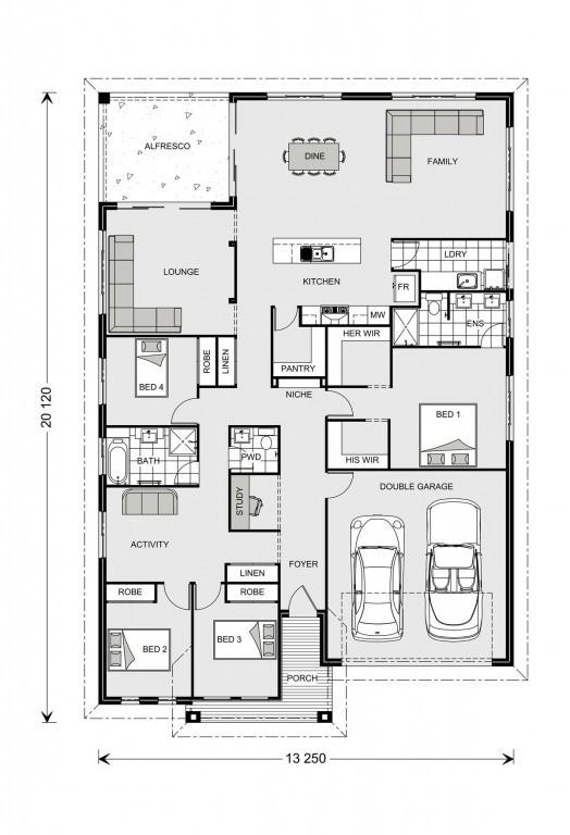 Casuarina 255 Floorplan