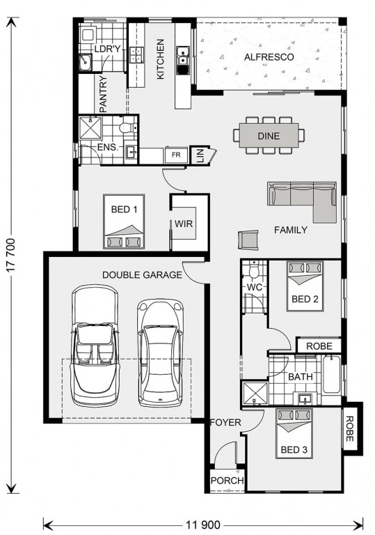Seacrest 214 - Element Series Floorplan