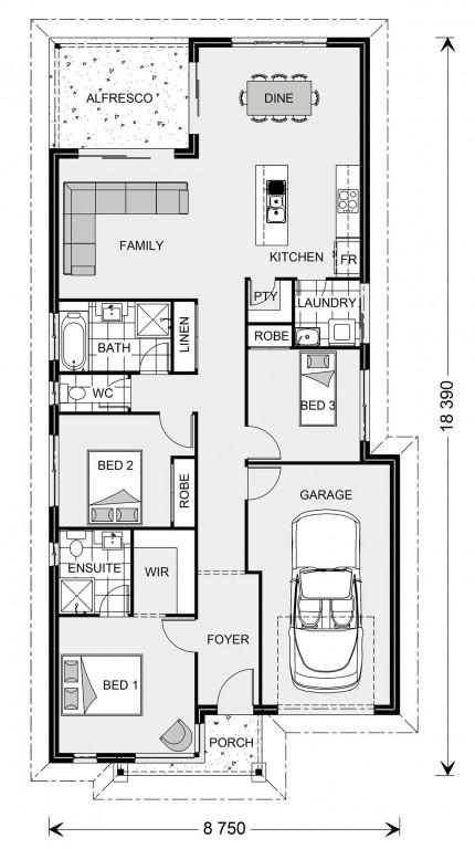 Kurrajong 147 - Metro Series Floorplan