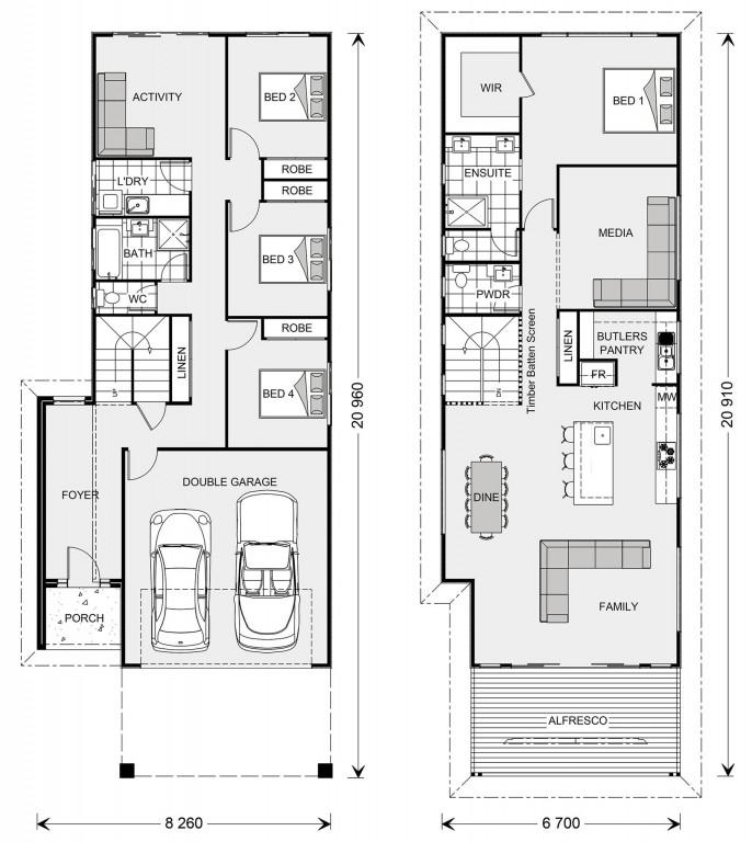 Hamilton 266 - Metro Series Floorplan