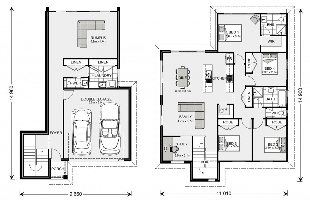 Regatta SL 234 - Split Level Series Floorplan
