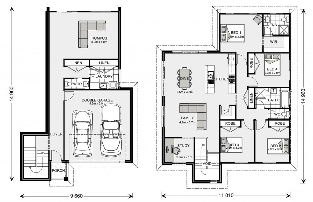 Regatta SL 234 - Split Level Series Floorplan
