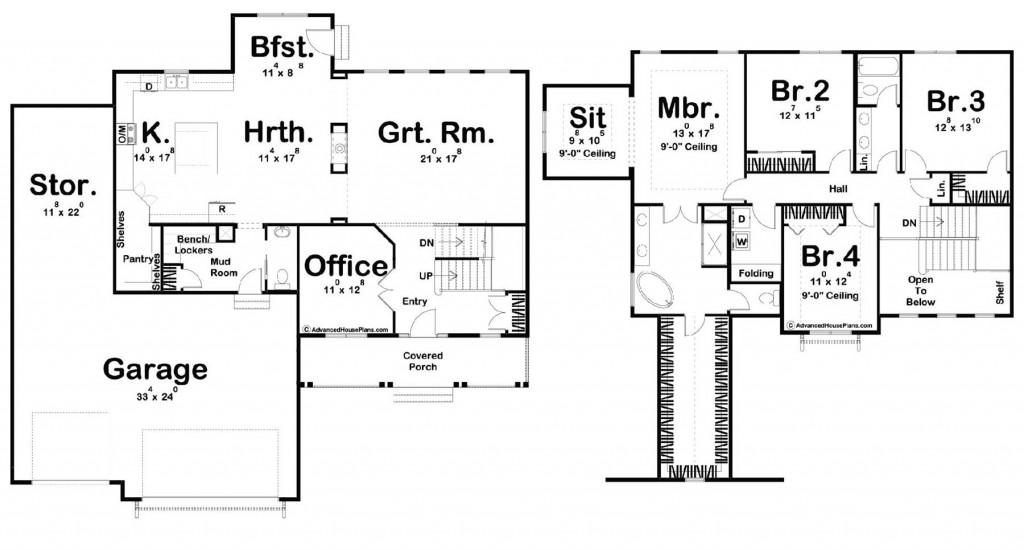 Anderson 3046 Floorplan
