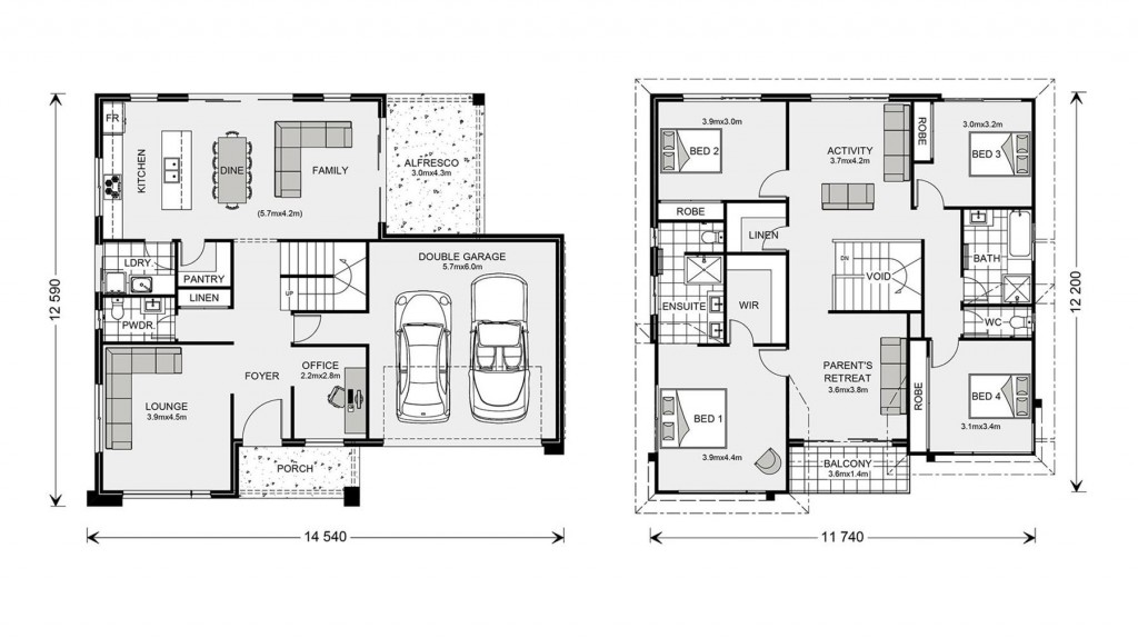 Esplanade 260 - Element Series Floorplan