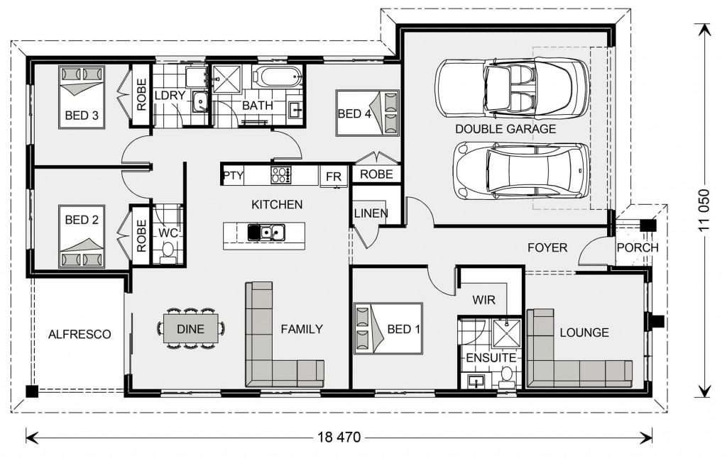 Brookfield 187 - Metro Series Floorplan