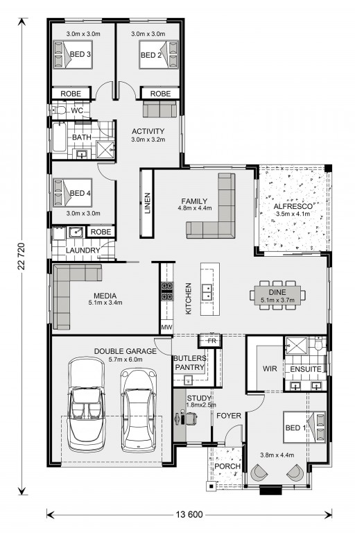 Coolum 246 - Element Series Floorplan