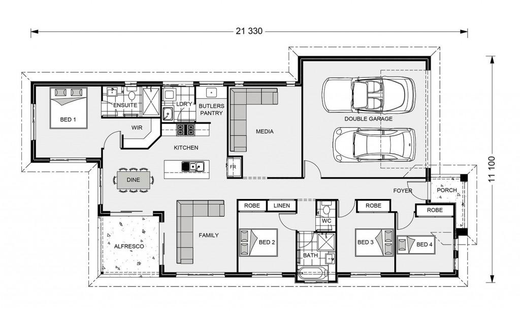 Edgewater 190 - Element Series Floorplan