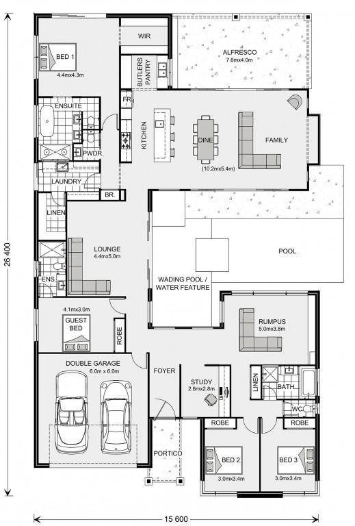 Japandi Floorplan