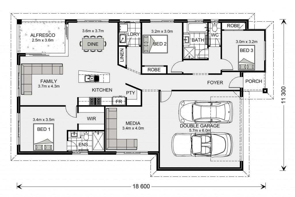 Beachlands 187 - Element Series Floorplan