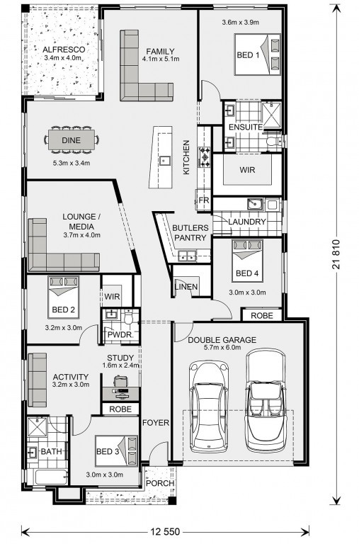 Beachlands 250 Floorplan