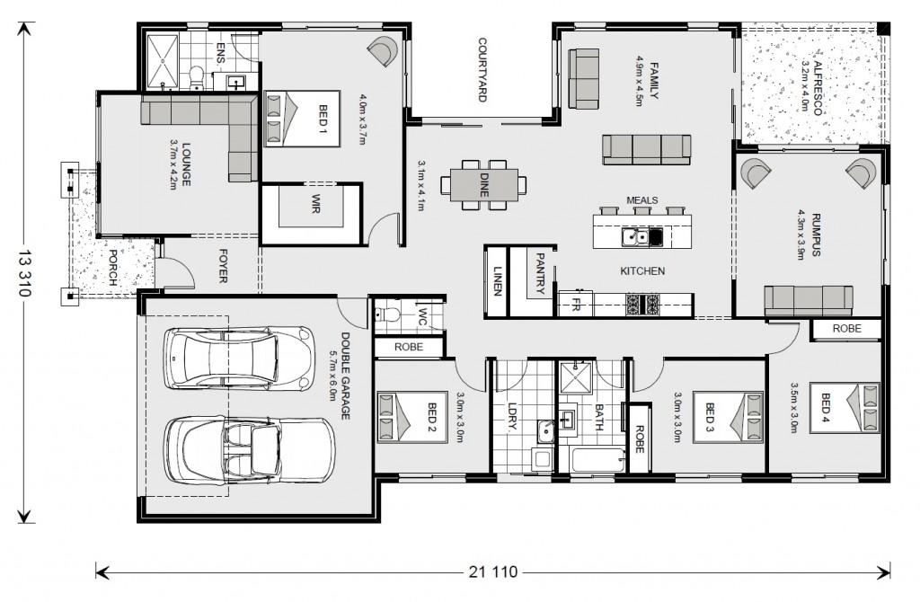 Sunbury 250 Floorplan