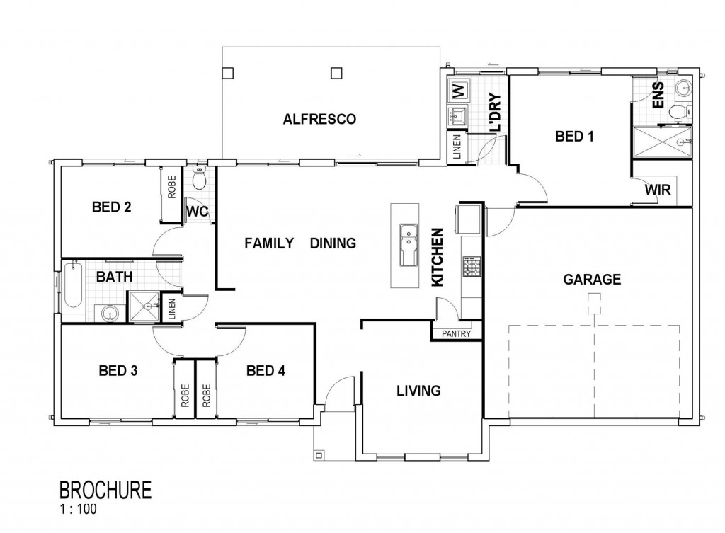 Bridgewater - Estate Series Floorplan
