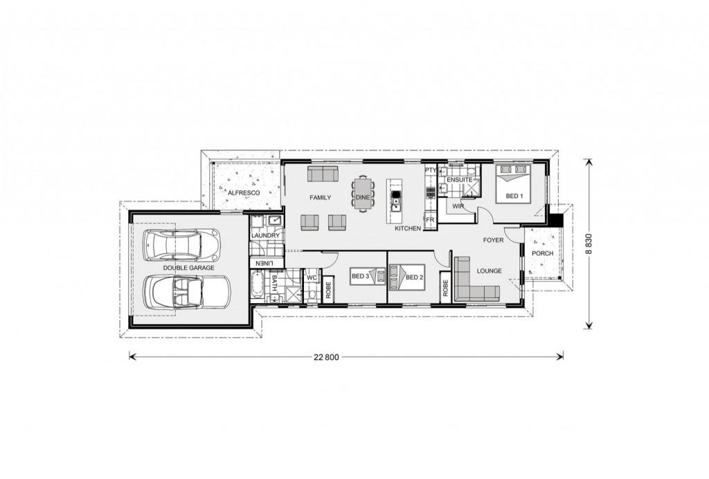 Greenhill Rear Lane - Rear Lane Series Floorplan
