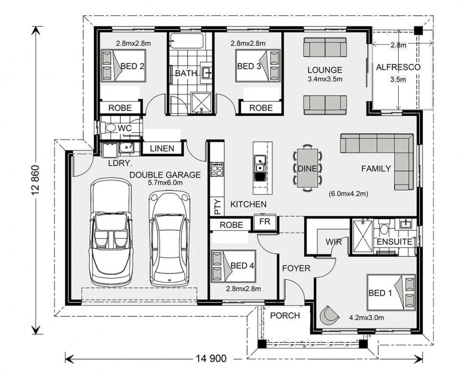Brighton - Express Series Floorplan