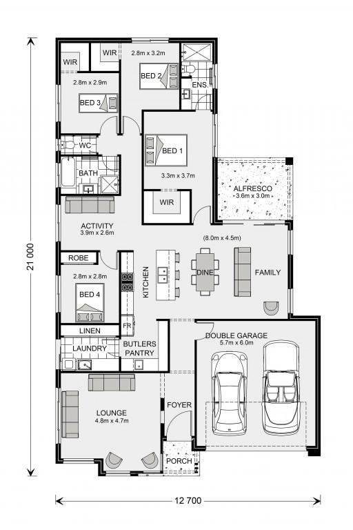 Elanora 220 - Element Series Floorplan