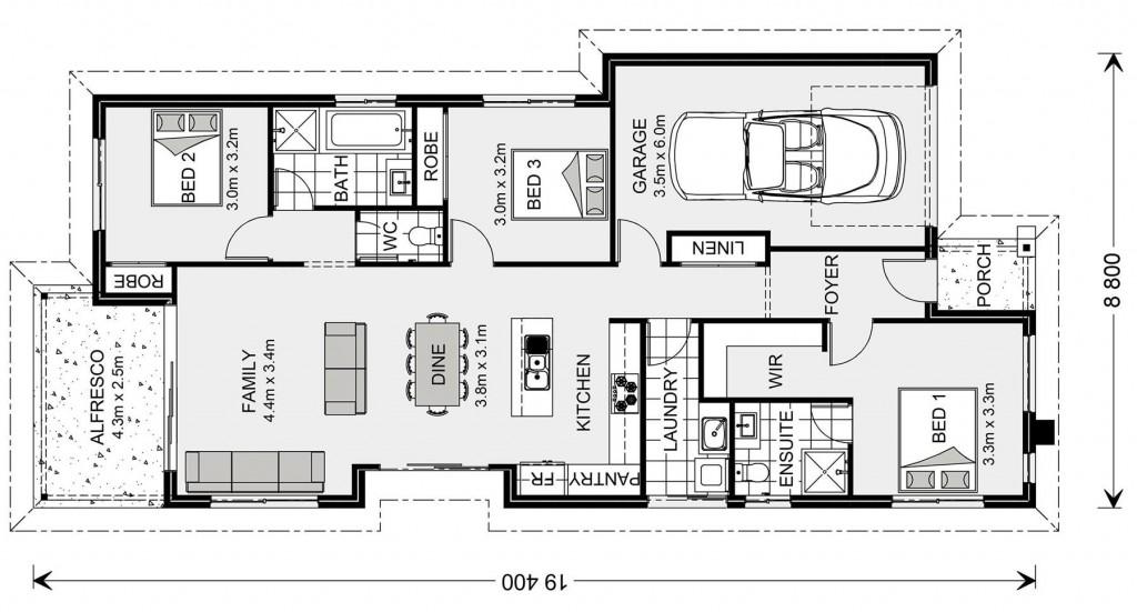 Curlewis 149 - Express Series Floorplan