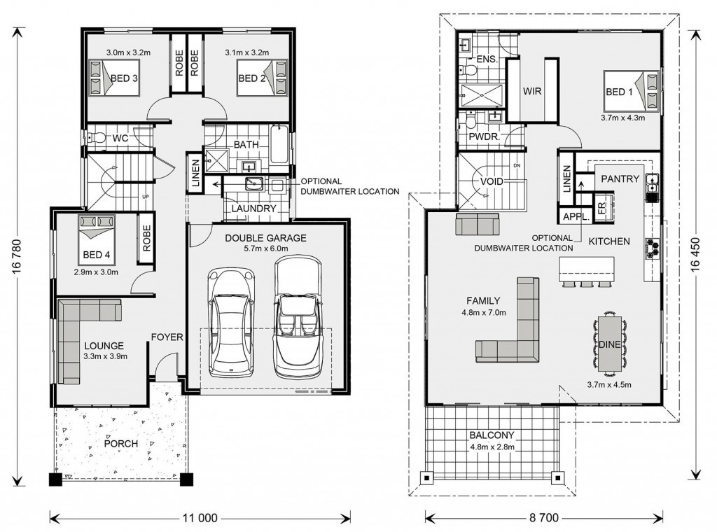 Torquay 268 - Upper Floor Living Floorplan