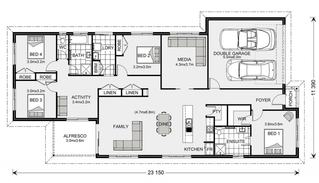 Pacific 230 Floorplan