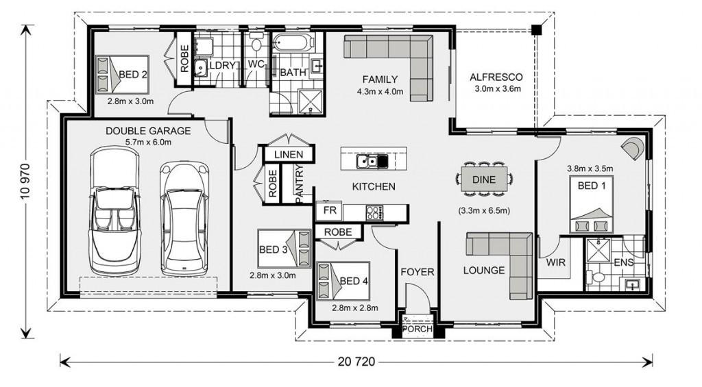 Bridgewater 173 - Express Series Floorplan