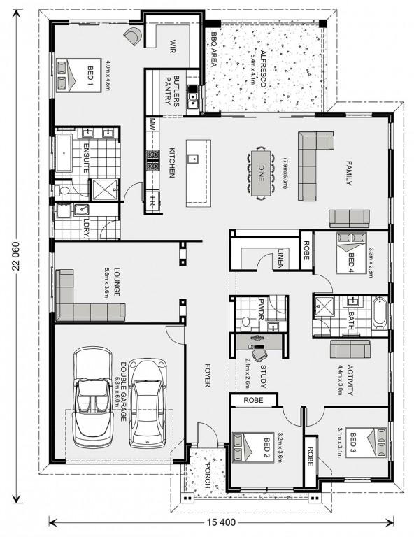 Forest Park 307 - Element Series Floorplan
