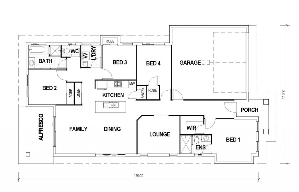 Bridgewater Floorplan