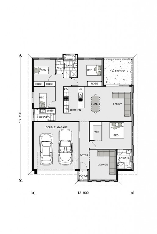 Fernbank 194 - Element Series Floorplan
