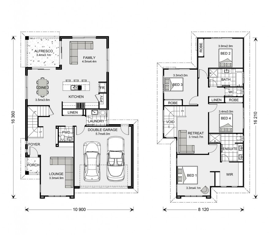 Avalon Bay 255 - Element Series Floorplan