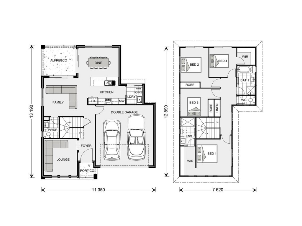 Blue Water 211 - Element Series Floorplan