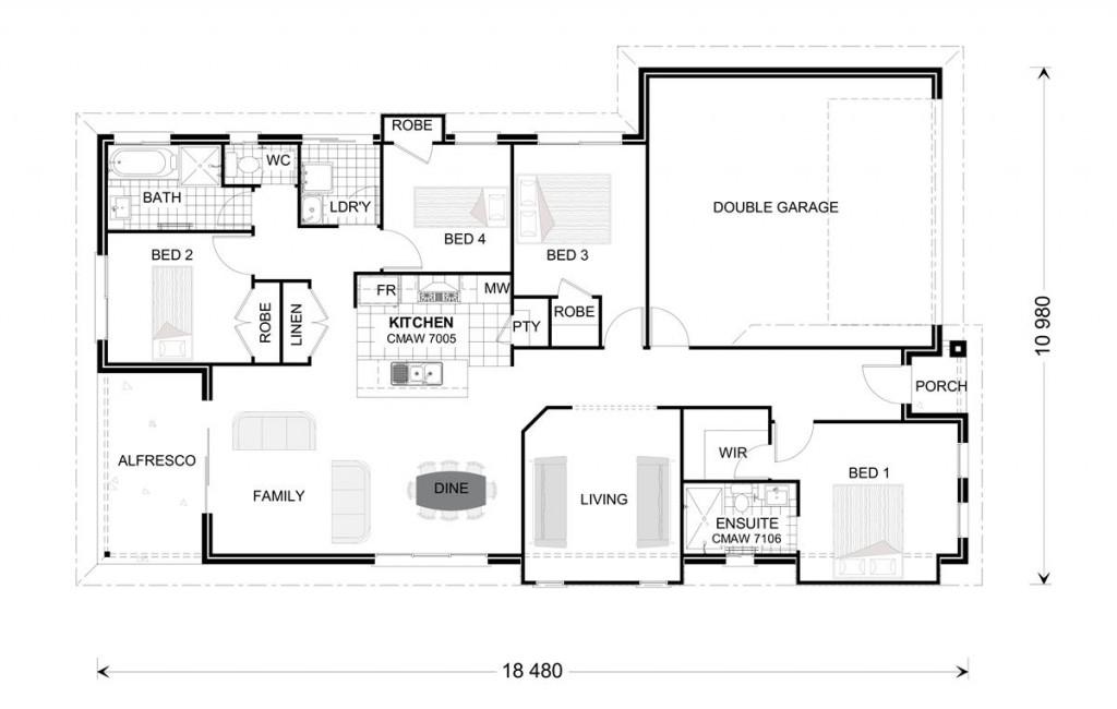 Bridgewater 173 - Award Series Floorplan