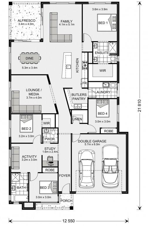 Beachlands 250 - Element Series Floorplan