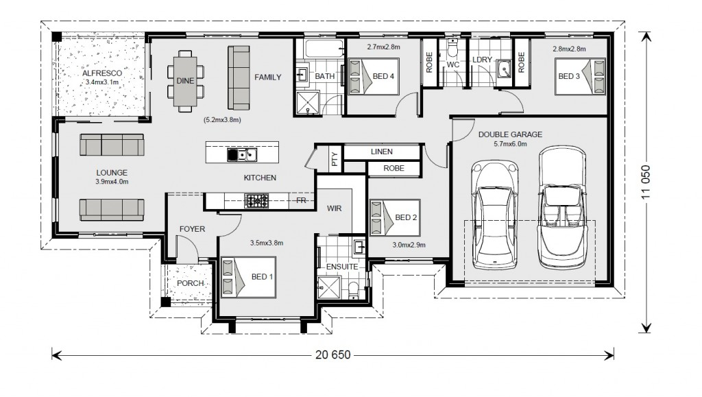 Rothbury Estate 192 - Estate Series Floorplan
