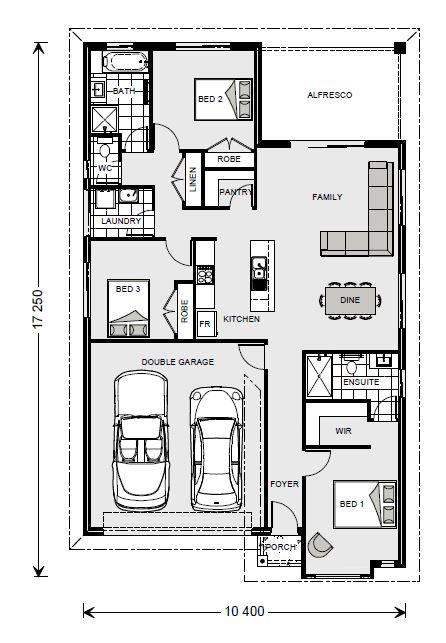 Nova 170 - Express Series Floorplan