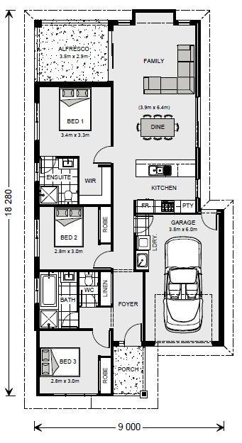 Armadale 142 - Metro Series Floorplan