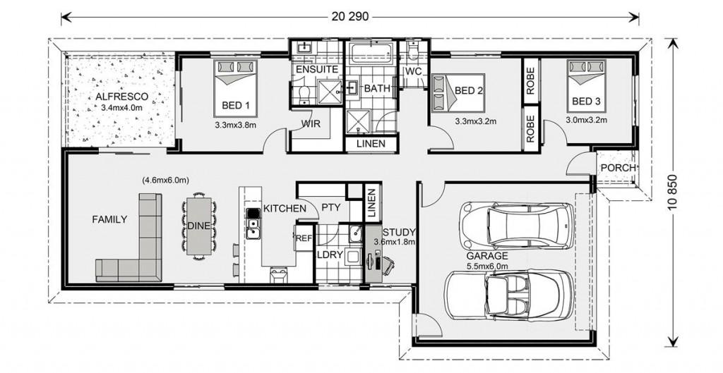 Westerfolds 180 - Express Series Floorplan