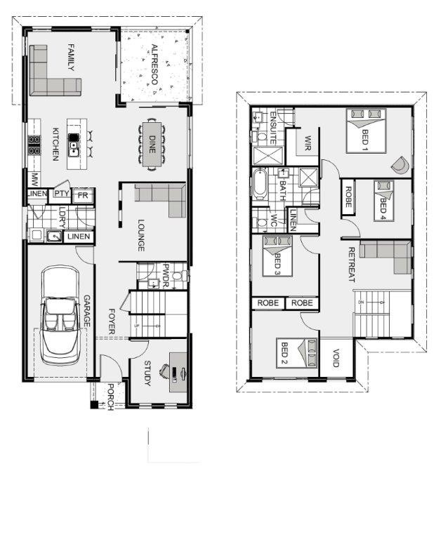Kensington 224 SG Floorplan