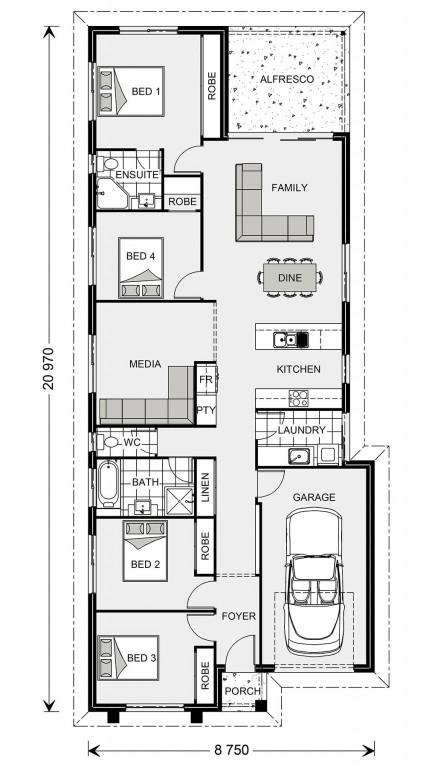 Stoneleigh 170 - Metro Series Floorplan
