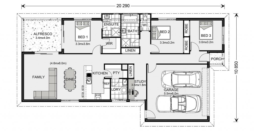 Westerfolds 180 - Express Series Floorplan