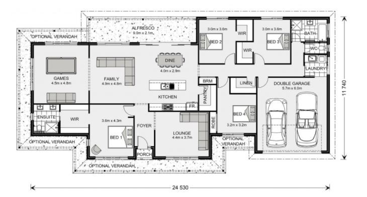 Fernbank 262 - Element Series Floorplan
