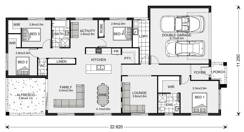 Bridgewater 225 - Element Series Floorplan
