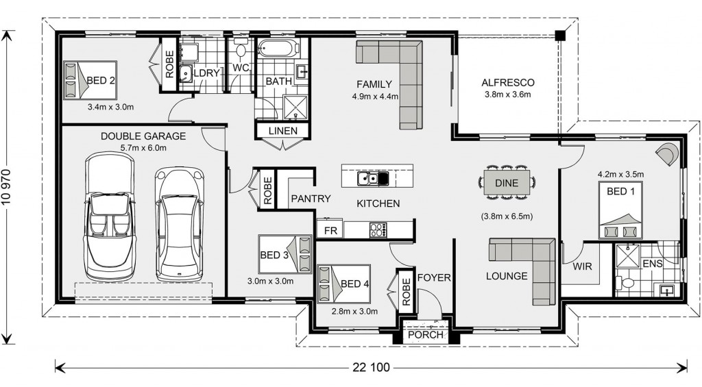 Wishart 206 - Express Series Floorplan