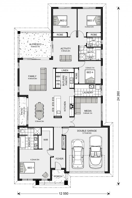 Benowa 260 - Element Series Floorplan