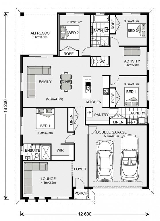 Brookfield 224 - Express Series Floorplan