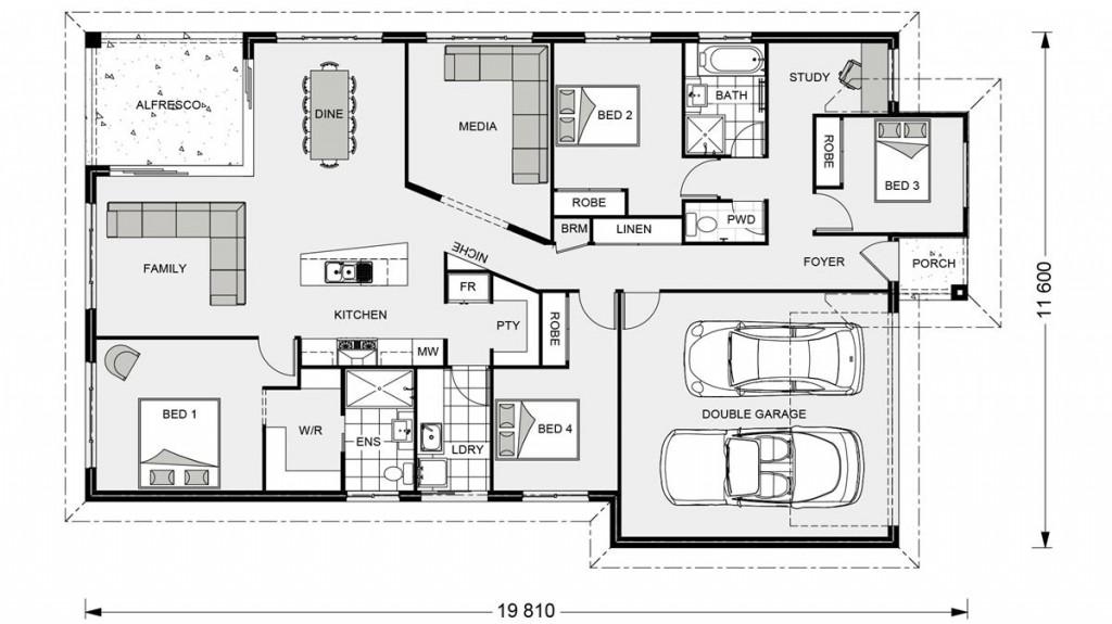 Beachlands 210 - Element Series Floorplan