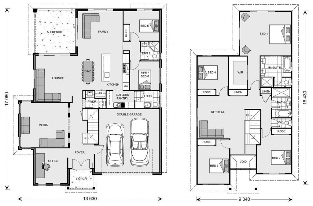 Twin Waters 330 - Element Series Floorplan