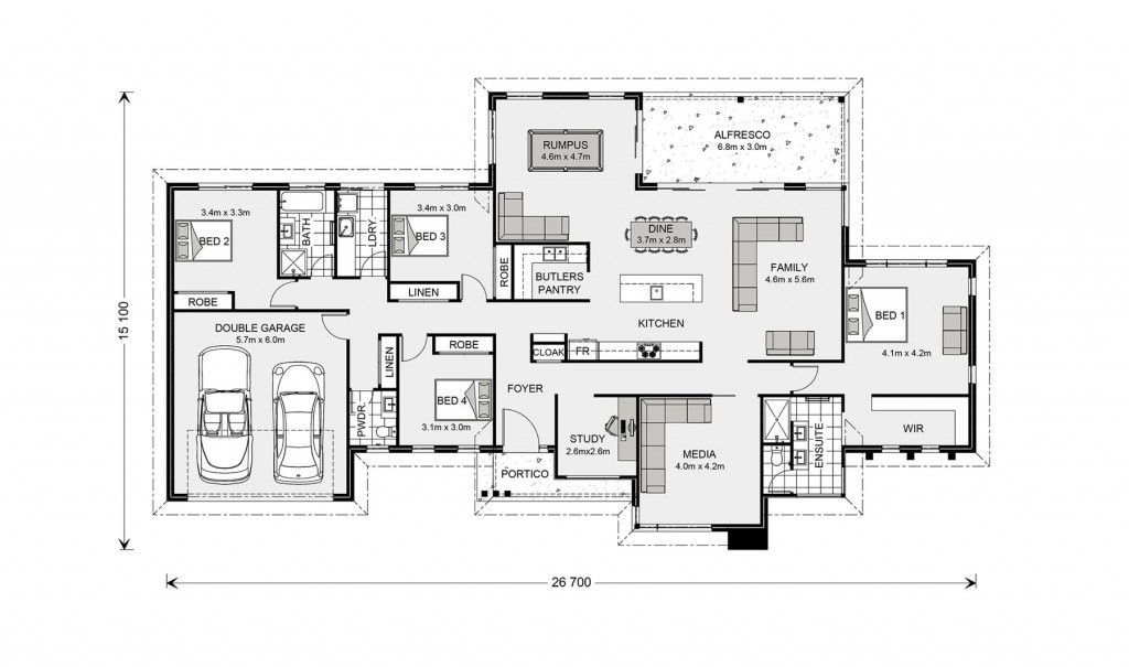 Somerset 296 - Prestige Series Floorplan